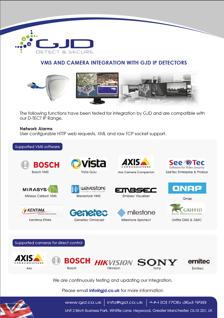 IP - VMS Integration Flyer Thumbnail