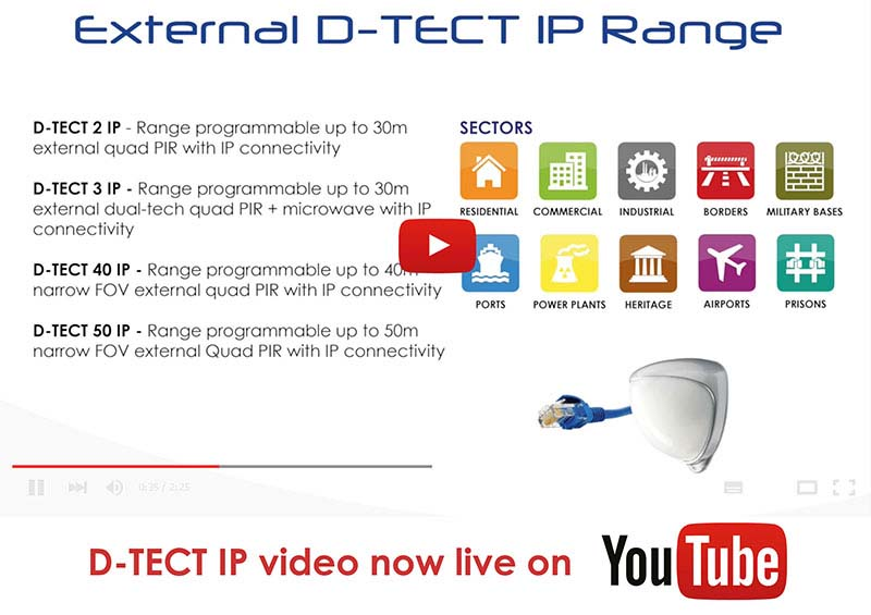 D-TECT  IP - YOUTUBE Video