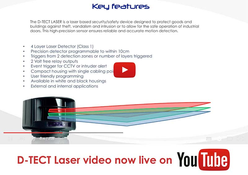 D-TECT Laser Youtube